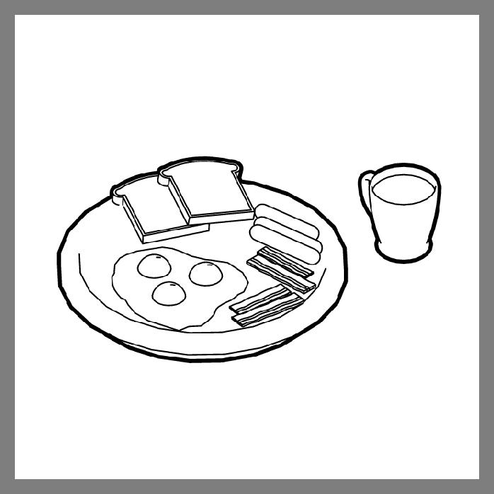 Mangez salé au petit déjeuner